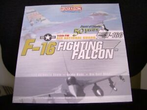 Dragon-Warbird-US-Air-Force-Lockheed-F-16-DC-ANG-Diecast-Model-1-72