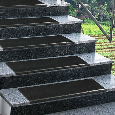 Non Slip Stair Treads All Weather Outdoor Staircase Mats