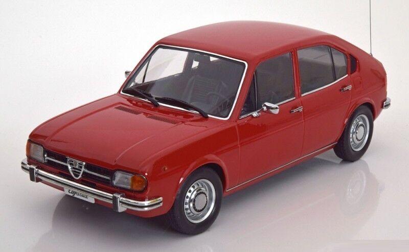 Kk Scala Modelli 1972 Alfa Romeo Alfasud 1.3 Rosso le Of 2000 1/18 in Magazzino