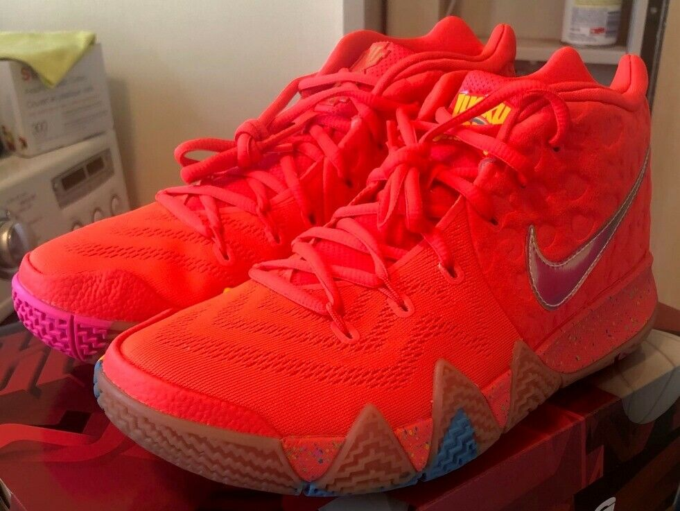 NEW Nike Kyrie 4 LUCKY CHARMS Size 9 Shipped Double Boxed