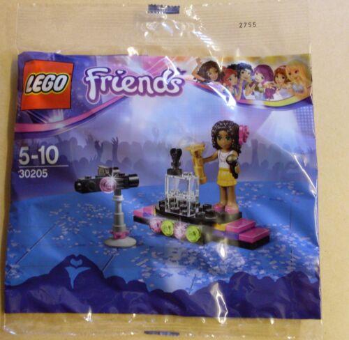 con personaggio Polybag bustina nuovo OVP LEGO Friends 30205 Pop Star Red Carpet