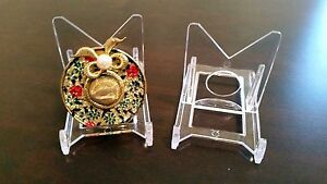 25-Adjustable-2-034-Display-Stand-Easel-Brooch-Brooches-Cameo-Rouge-Compact