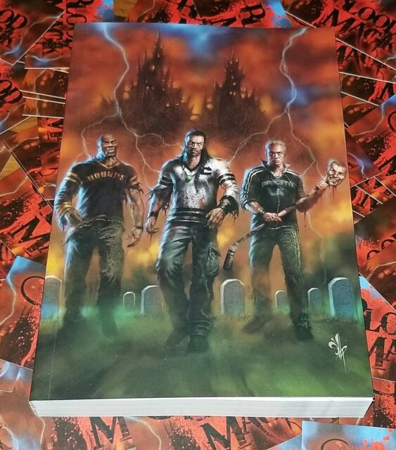 BLOOD MAGIK Limited-to-500 RARE Book SIGNED (Damaged) Zombie Horror Fantasy