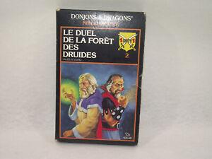 DONJONS & DRAGONS niveau avancé LE DUEL DE LA FORÊT DES DRUIDES SOLAR 1 contre 1