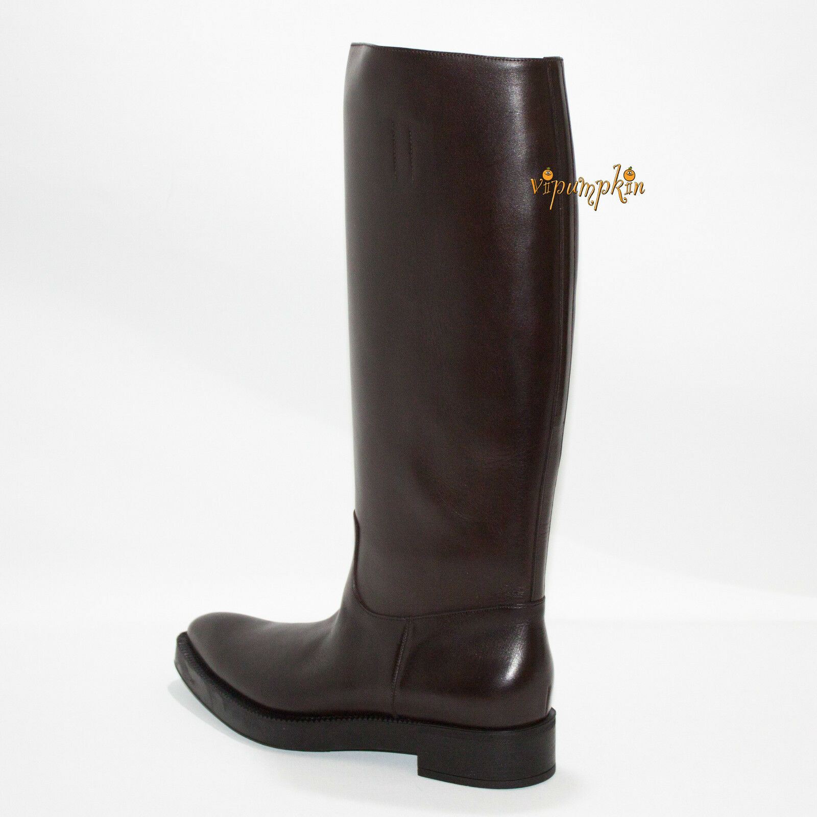 PRADA PRADA PRADA CALZATURE women PRESTIGE CALF LEATHER BOOTS Mgold 1W394E NEW 8.5 US 38.5 EU 5a5580
