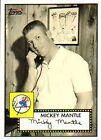 2007 Topps Mickey Mantle #MMS4 Baseball Card