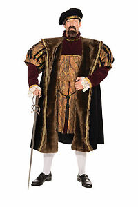 Adult-Henry-VIII-English-King-Renaissance-Medieval-Deluxe-Costume