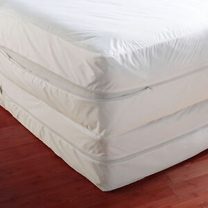 Anti bed bug mattress cover protector protege couvre matelas anti punaise ebay - Couvre matelas anti punaise ...