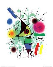 The Singing Fish Art Poster Print by Joan Miró, 16x19.5
