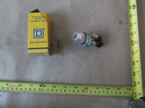 Details about  /Square D Push Button 9001 MR2B with 2 Contact Blocks 9001-MA21