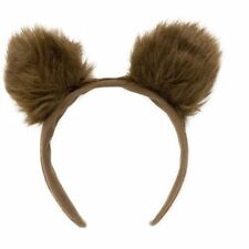 MENS WOMENS ANIMAL BROWN BEAR EARS GOLDILOCKS HEADPIECE HEADBAND FANCY DRESS