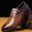 Hot-Men-039-s-Wedding-Dress-Pointed-Oxfords-Leather-Shoes-Casual-Formal-Size-6-13 thumbnail 22