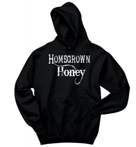 Homegrown Honey Sweatshirt Cute Country Redneck Music Graphic Hoodie