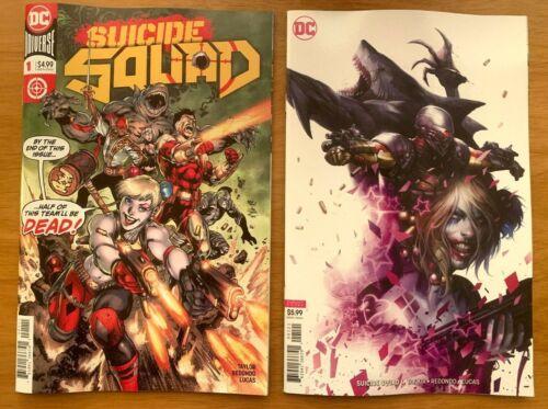 Suicide Squad #48B Francesco Mattina variant 1st print VF+//NM+