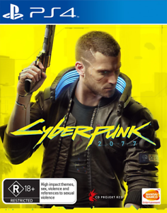 Cyberpunk 2077 Day One Edition PS4 Game NEW