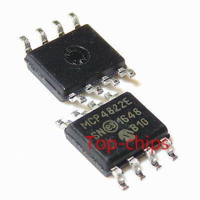 5pcs MCP4822 MCP4822-E//SN SOP8 digital to analog converter