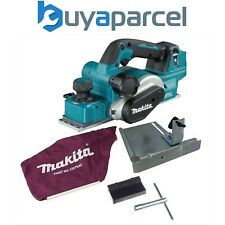 Makita DKP181Z 18v LXT Brushless Cordless Planer Lithium 82mm Bare + Dust Bag