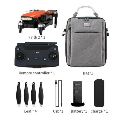 4K HD DRONE C-fly Faith 2 Pro CON 5.8GWIFI 5KM FPV GPS 3-axis gimbal-35 m VOLO Offerte e sconti