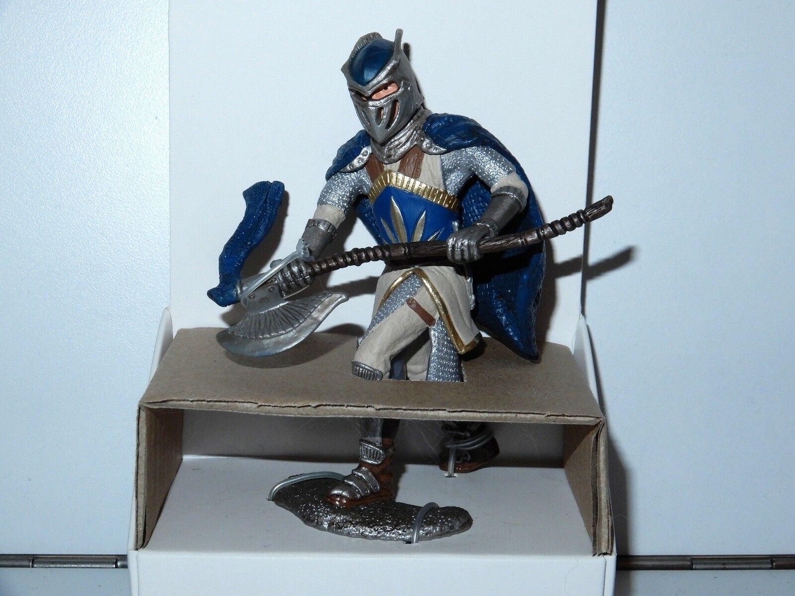 FANTASY WORLD 70112 GRIFFIN KNIGHT WITH AXE TEST SHOT PROTOTYPE PACKAGING