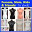 NEW-Female-Male-Kids-Child-Mannequin-Torso-Display-Hand-White-Black-Skin-Tone thumbnail 1