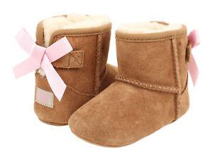 Crib-UGG-Australia-Jesse-Bow-Boot-1006483I-Chestnut-100-Authentic-Brand-New