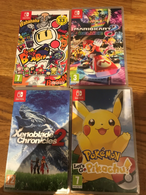 Switch spil, Nintendo Switch, action, Xenoblade chronicles…