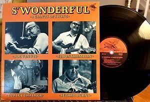 Jethro-Burns-E-Shamblin-Joe-Venuti-LP-Giants-of-Swing-Flying-Fish-1977-EX