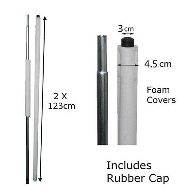 Replacement Trampoline Poles for Enclosures, Set Discounts and Free Postage