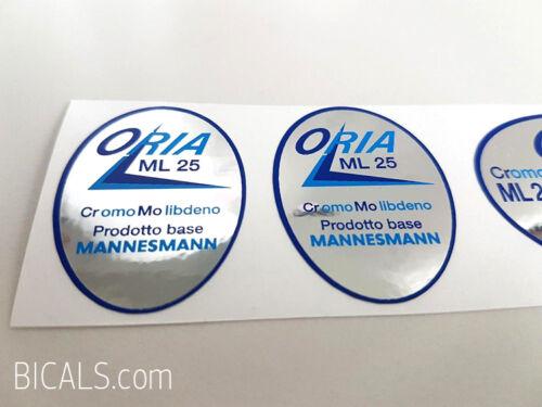 ORIA ML 25 tubing decal sticker FREE SHIPPING silk screen