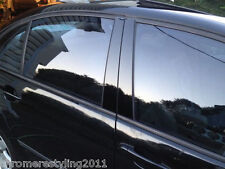 VW JETTA BLACK HIGH GLOSS PILLAR POSTS 2006-2010 ( 6 PIECE SET)