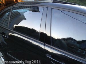 6PCS CHROME PILLAR POST COVERS FOR CADILLAC CTS 2003-2007
