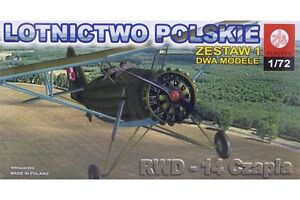 ZTS PLASTYK S061 1/72 RWD-14 Czapla + TS-11 Iskra BR200 (2 Models)