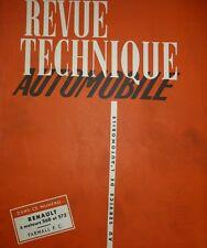 Revue technique RENAULT moteur diesel 568 et 572 RTA 99 1954 TRACTEUR FARMALL FC
