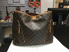 Louis Vuitton Delightful Monogram GM Tote Hobo Bag Handbag - READ