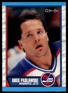 1989-90-O-Pee-Chee-Greg-Paslawski-268