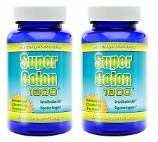 2X Super Colon Cleanse 1800 Maximum Body Cleansing Detox Weight Loss Pills Diet