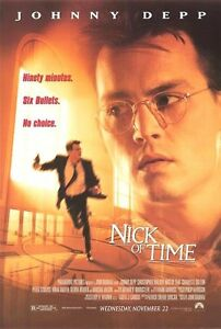 NICK-OF-TIME-1995-Orig-D-S-27x40-movie-poster-JOHNNY-DEPP-CHRISTOPHER-WALKEN