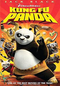 Kung Fu Panda (DVD, 2008) New, Free shipping
