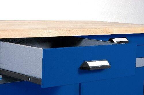 Kupper 12877 Werkbank Ultramarinblau Silber Gunstig Kaufen Ebay