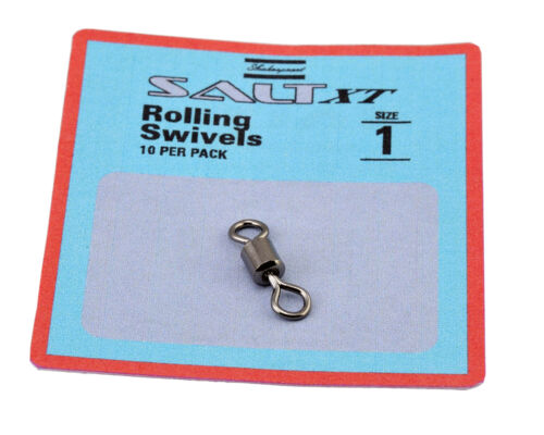 Shakespeare Salt Rolling Swivels 25 Pack