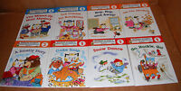 Lot Of 8 Richard Scarry Readers 8 Pack Hardcover