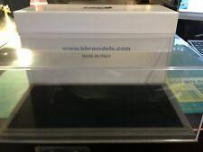 Acrylique-Capot Vitrine Display Case noir cuir synthétique BBR vet1804b1 1:18