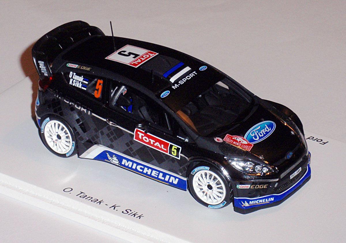 Ford Fiesta RS WRC No. 5 8th WRC Monte Carlo 2012 Tänak s3341 Spark 1 43 New  Neuf dans sa boîte