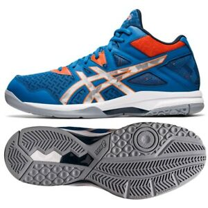 Chaussures de volleyball Asics GEL-TASK Mt 2 M 1071A036 400 multicolore bleu