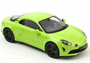 RENAULT Alpine A110 - 2020 - Limited 110 pc`s - Tilleul green - Norev 1:18