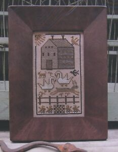 MADDIE SAMPLER-CROSS STITCH CHART KATHY BARRICK