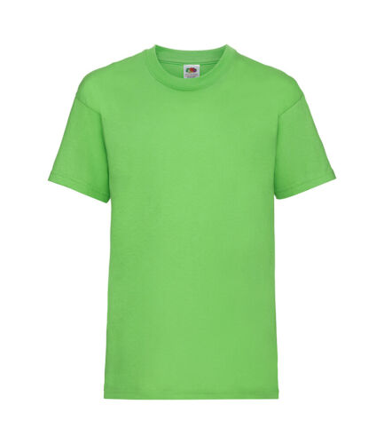 Fruit of the Loom Plain Cotton Kids Childrens Childs Boys Girls Tee T-Shirt