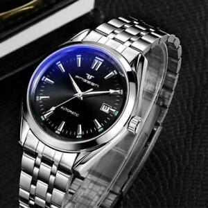 Luxury-Automatic-Mechanical-Mens-Watch-Tourbillon-Self-Wristwatches-Winding-P7G0
