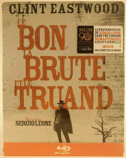 Bon la Brute et le Truand - Steelbook - Blu ray - Neuf sous blister -