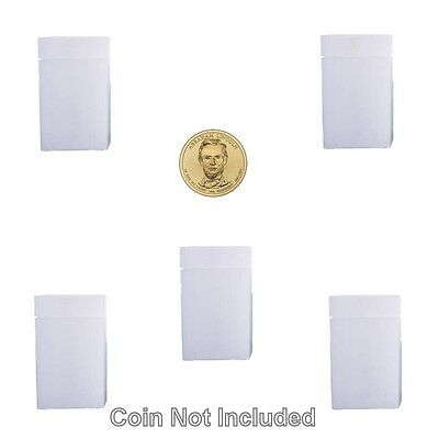 10 NUMIS SQUARE DOLLAR 38 MM COIN TUBES